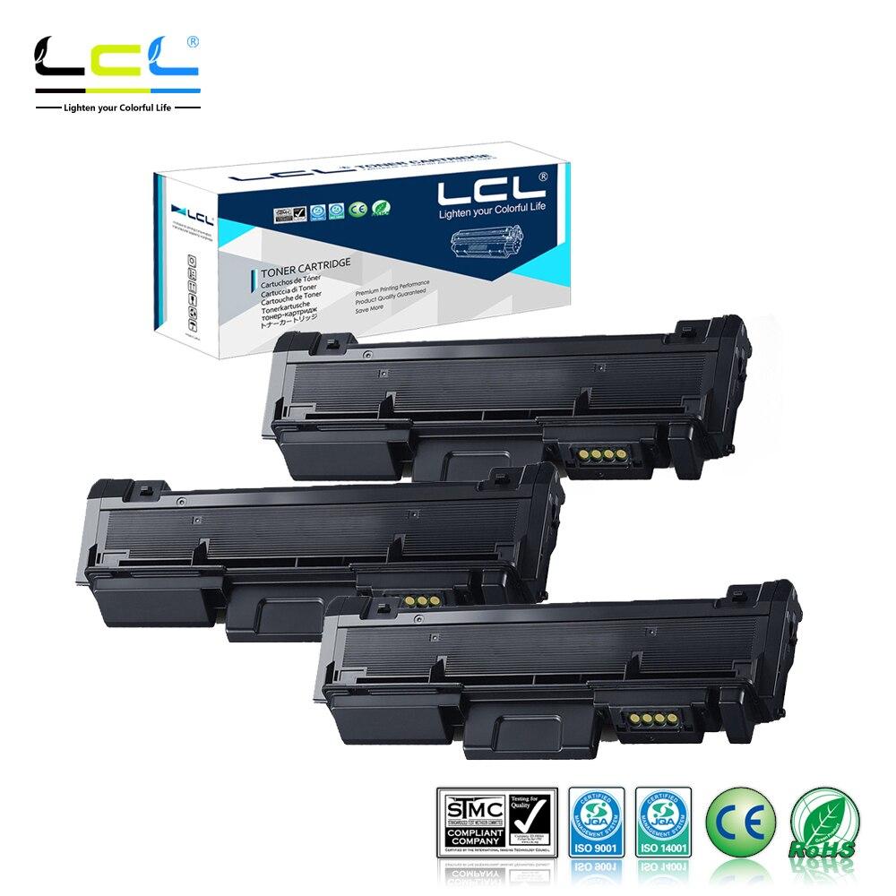 LCL MLT-D116L MLT-D116S D116 3000 Pages (3-Pack Black) Toner Cartridge Compaitble for Samsung SL-M2676N/SL-M2676FH/SL-M2876HN полесье автомобиль дпс волгоград