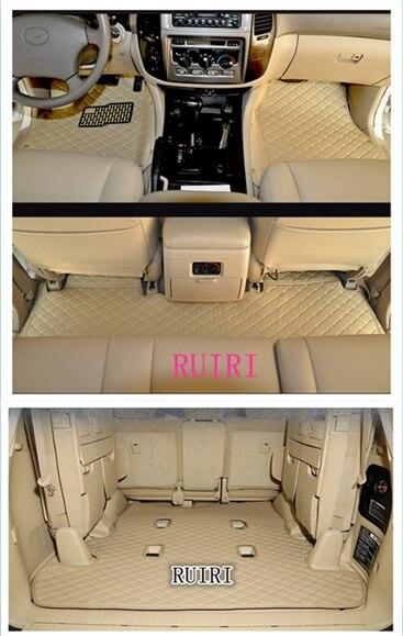 Bonne qualité tapis! spécial de voiture tapis de sol pour Lexus LX 570 7 sièges 2018-2008 durable tapis tapis pour LX570 2014, livraison gratuite
