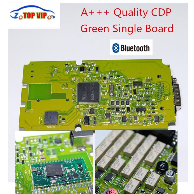 Prix pour A + + Qualité Vert Unique Conseil CDP PRO 2015 R3 Keygen Auto OBD2 De Diagnostic-NOUVEL Outil VCI bluetooth Pour Voiture/Camion/Générique 3 dans 1