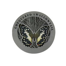 Factory direct butterfly logo coins cheap price antique silver commemorative coin