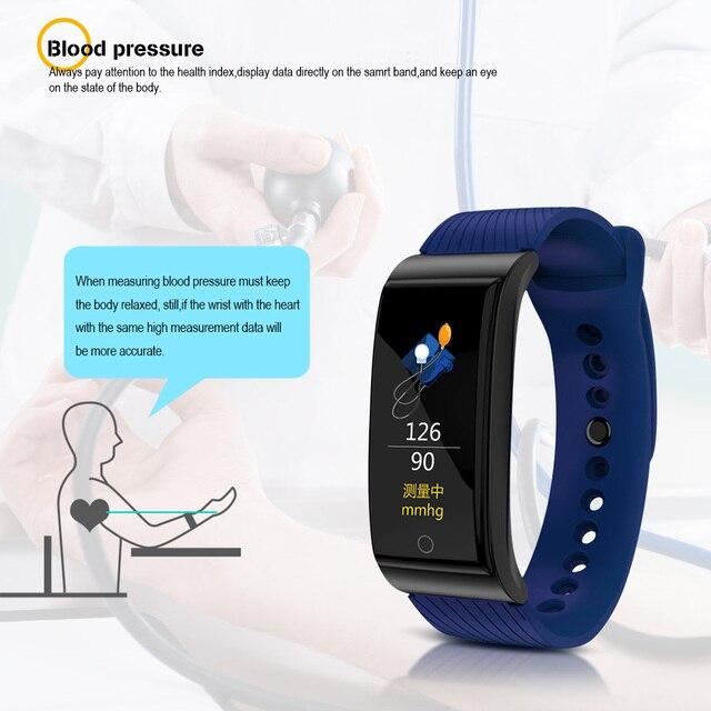 Women Wristband Blood Pressure Heart Rate Monitor 2
