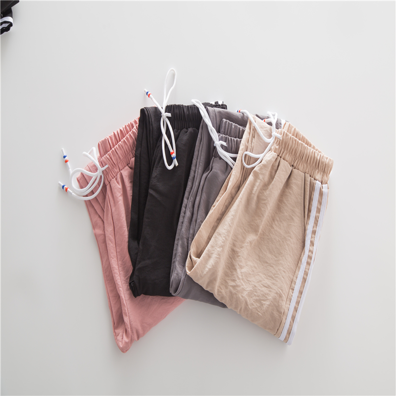 Double Striped Jogger Haren Pants Long Leisure Pants Women Bottoms Multiple seasons Female Clothes Sweatpants Sportswear pants