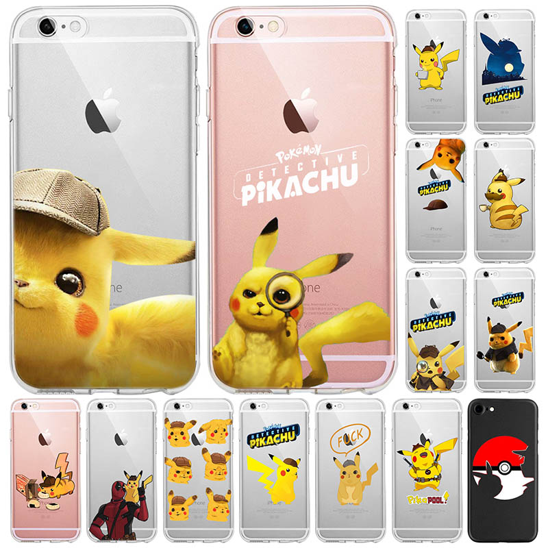 detective-pikachu-anti-fall-phone-case-for-iphone-x-8-7-6-6s-plus-5-5s-se-silicone-case-funda-iphone-xr-xs-max-font-b-pokemon-b-font