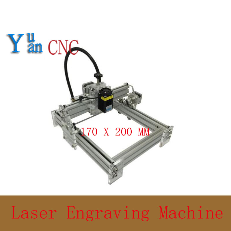 1720 DIY CNC machine Laser Engraving Machine wood router Mini Marking Machine  Advanced Toys  Blue violet light 100mw laser power diy mini laser engraving machine 35 50cm engraving area mini marking machine advanced toys best gift