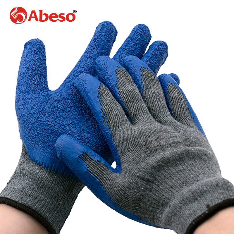 Abeso ESD Safety Glove Anti-static Glove Nylon Glove With PU Polyurethane Palm Dipped Anti Static Work Glove corsn cs 1008g 8 port 100mbps 1000mbps switch blue