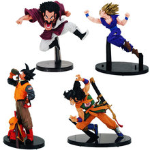 Anime Dragon Ball Z Action Figure Drinking water Son Goku Yamcha Scultures Big PVC Action Figure Model Toy Doll(China)