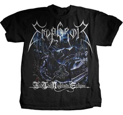 EMPEROR - In The Nightside Eclipse - T SHIRT S-M-L-XL-2XL Brand New Official