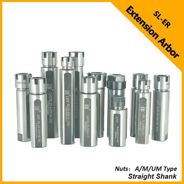 ADST Lathe processing Rear Pull Extension Bar Straight Shank Extension Arbor Machine Tools & Accessories