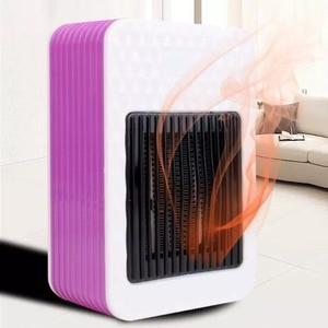500W Heaters Small Desktop Squ