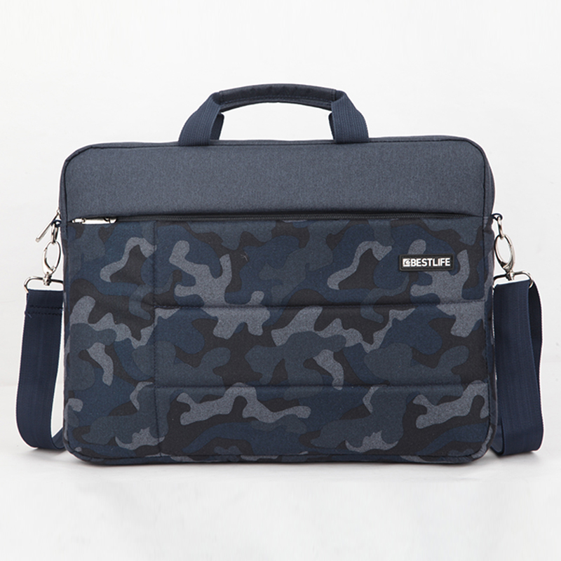 BESTLIFE Male Briefcase Maleta Casual Camouflage Laptop Business - Portföljer