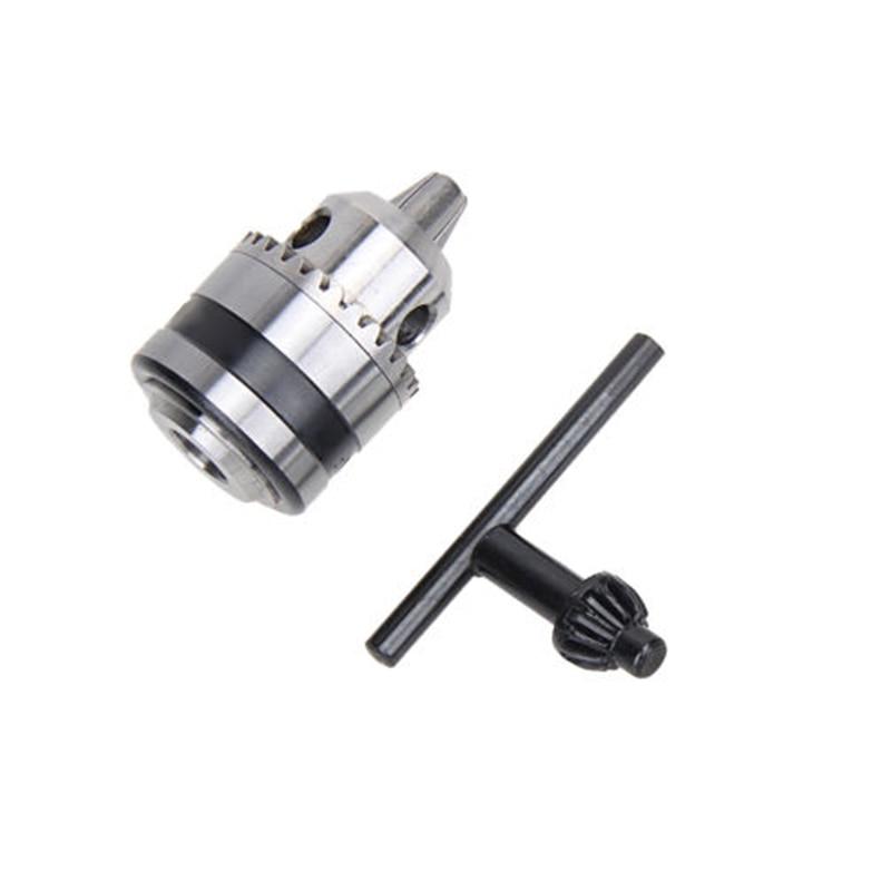 цена на Hot Electric Metal Drill Chuck 0.6~6mm 3/8Thread 24UNF 1/4Hex Shank Power Tool
