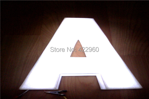 Factoy Outlet Outdoor High Brightness 3d Plastic Acrylic Letters