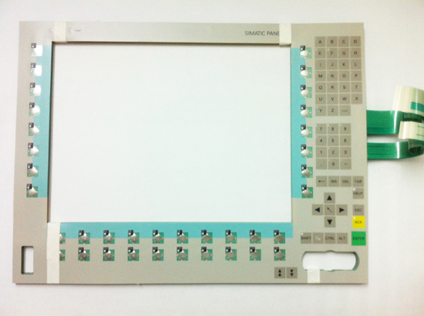 Membrane keypad for 6AV7615-0AB22-0CH0 SlEMENS HMI PC670, SIMATIC PANEL PC 670, Membrane switch , simatic HMI keypad , IN STOCKMembrane keypad for 6AV7615-0AB22-0CH0 SlEMENS HMI PC670, SIMATIC PANEL PC 670, Membrane switch , simatic HMI keypad , IN STOCK