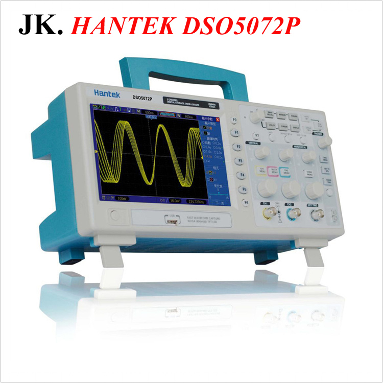 H001 Hantek DSO5072P Digital Storage Oscilloscope 70MHz 2Channels 1GSa/s d Length 24K USB осциллограф hantek 6022be usb storag 2channels 20 48msa s