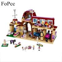 10562 Kız Arkadaşlar Heartlake Sürme Kulübü Yapı Taşları 594 Adet Çocuklar Modeli DIY Tuğla Oyuncaklar Ile Legoings 41126