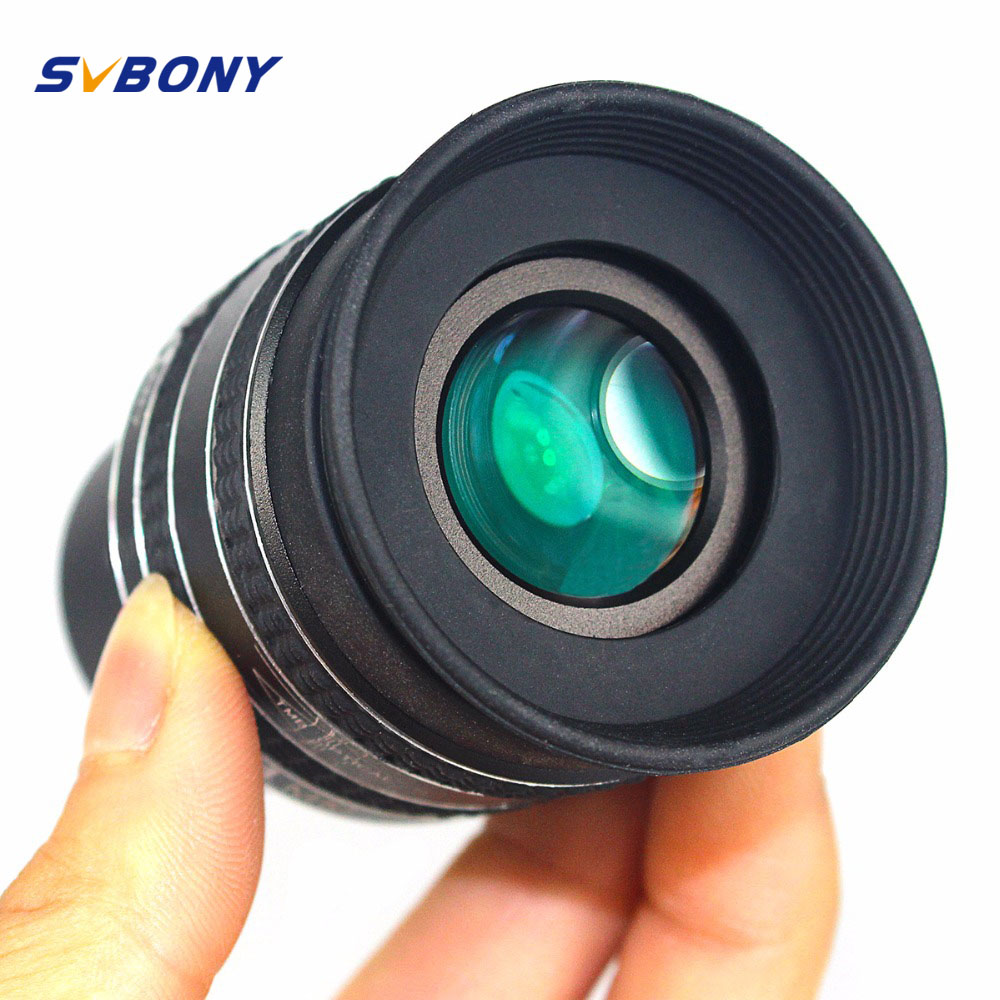 SVBONY 1.25'' Eyepiece SWA 58 Degree 3.2mm/4mm/6mm Planetary Eyepiece for Astronomy Telescope Monocular Binoculars W2491 pl3 6mm eyepiece telescope accessories