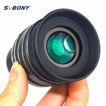 "Cheap price SVBONY 1.25"" Eyepiece SWA 58 Degree 3.2mm/4mm/6mm Planetary Eyepiece for Astronomy Telescope Monocular Binoculars W2491"