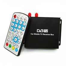 Support 160-180km/h DVB-T2 two tuner & active antenna Digital TV receiver Compatible with SD/HD MPEG2 and MPEG4 AVC H.264