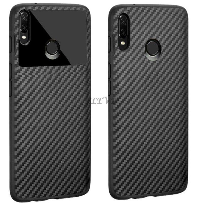 For Lenovo K5 Pro L38041 Case Soft Silicon Back Cover Carbon Fiber Shockproof Case For Lenovo S5 Pro L58041 Phone Coque Cases