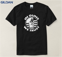 Cartoon 1 Style S-6XL Mens Animal Gun Casual Printing Men T-Shirt Fitness Cotton Men's Tshirt 2017 Top Tee