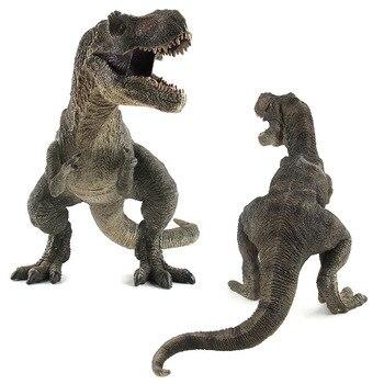2 Colors Jurassic Dino World Tyrannosaurus model figure teaching Collection Gift model toys  figurine
