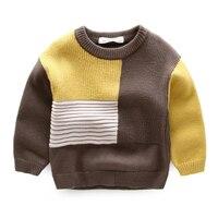 בני סוודר חורף בנות ילדים ללבוש שרוול ארוך סיטונאי