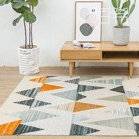 2018 новые ковры в скандинавском стиле для гостиной для спальни домашний декор напольный коврик журнальный столик диван ковры и ковер домашн