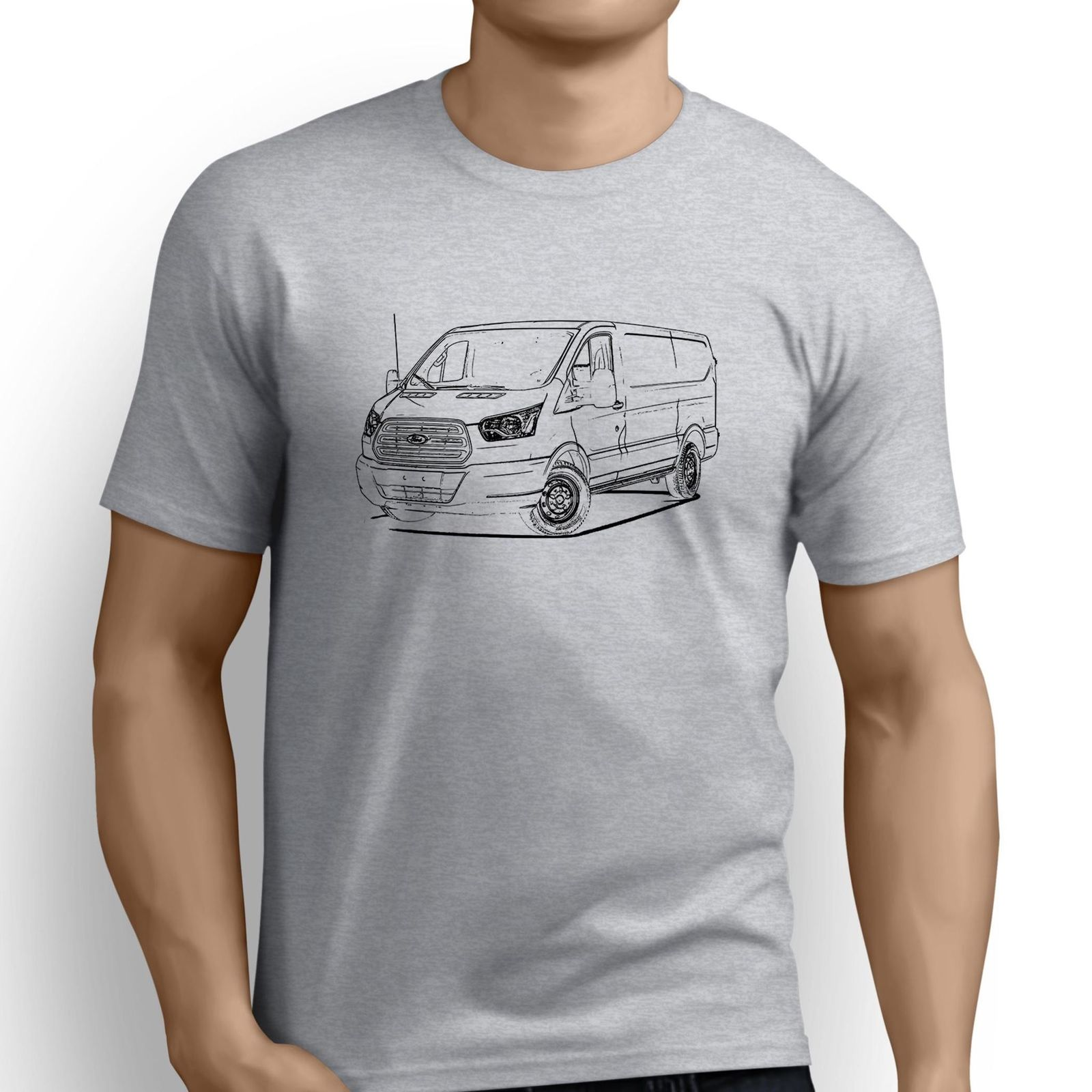 Newest 2018 Fashion Sleeves Cotton T-Shirt Fashion American Car Fans Transit Van Inspired Car Offensive T Shirts