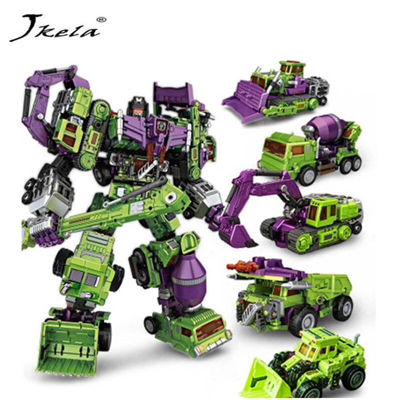 Toys Devastator-Figure-Toys Robots-Action-Figures Navvy Model-Toy KO of for Children
