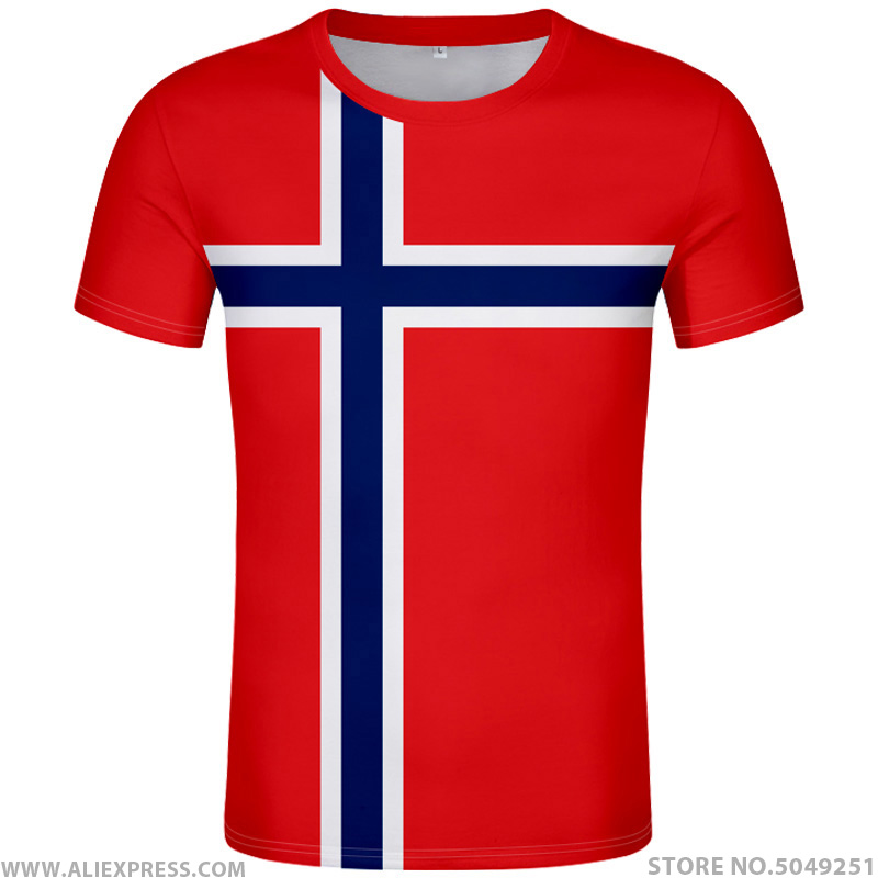 NORWAY <font><b>t</b></font> <font><b>shirt</b></font> diy free custom made name number nor <font><b>t</b></font>-<font><b>shirt</b></font> nation flag norge norwegian kingdom country print photo text clothes image