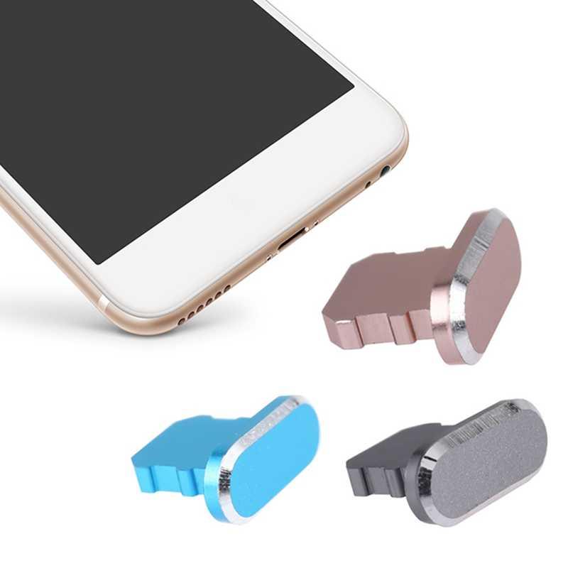 金属ダストプラグ充電ポート iphone 8 7 6 6 s プラスミニダストプラグ iphone 5 5 s SE 電話アクセサリー