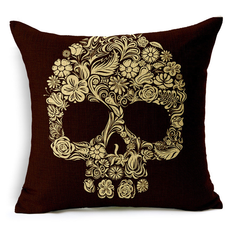 Customized Skull Ocean Cushion Pillow Covers  3