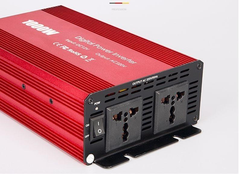 1000 Вт 12 В до 110 В нам Инвертор автомобильный Мощность конвертер с анти-защита от обратной