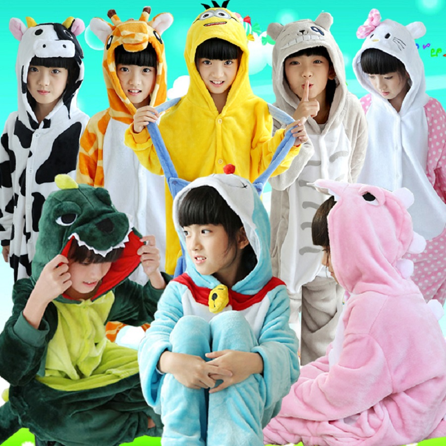 Animal Cartoon Pajama Onesie Baby Pajamas Funny animal Kids Girls Boys Panda Children Stitch Sleepwear Onesies Nightwear - Pyjamas Store store