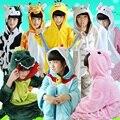 Animales de Dibujos Animados Funny animal Pijama Pijama de una pieza Pijamas Del Bebé Niños Niñas niños Niños Panda Puntada ropa de Dormir Onesies de Dormir