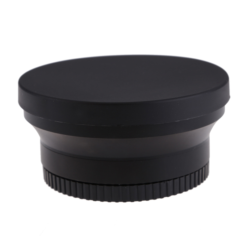 67mm Wide Angle Macro Conversion Lens 0.43x Auto Focus Fully Automatic Digital SLR Pro Lens for Nikon D80 D90 D5000 D7000 camera zomei 62 mm 0 45x wide angle filter lens multi coated agc optical glass mc af wide converter for digital slr camera lens