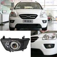 Ownsun Superb 55W Halogen Bulbs COB Fog Lights Source Angel Eye Bumper Cover For Kia Carens