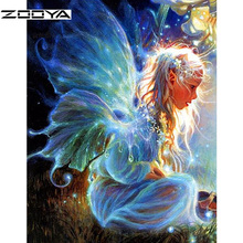 ZOOYA Full Square Diamond Painting Cartoon Embroidery 5D Diy Mosaic Rhinestones Picture Needle Arts Craft SF605