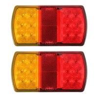 2x 12V 12LED Car Tail Lights