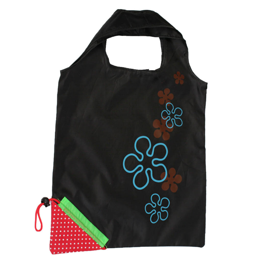 Heißer Tasche Frauen Reusable Einkaufstasche Weiche Für Kinder Erdbeere Floral Print Wasserdichte Große Kinder Reise Für Mütter Faltbare Tasche Erfrischung