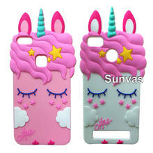 Beautiful Pretty Unicorn 3D Soft Silicone Case Cover Shockproof For Samsung J3 J5 J7 Prime y5 Y6 II 2 K8 K4 K10 2017 Redmi 4A 3S