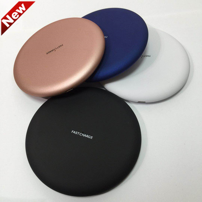 Universal Qi Wireless Charger Charging Pad for iPhone 8 8+ iPhone X Samsung Galaxy S7 Edge S6 Note 5 and Qi Enable Device
