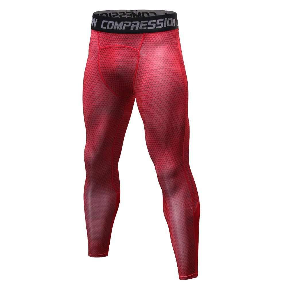 06c0948dfe4c6 Red/blue/grey/white/black/bodybuilding men's leggings, large size