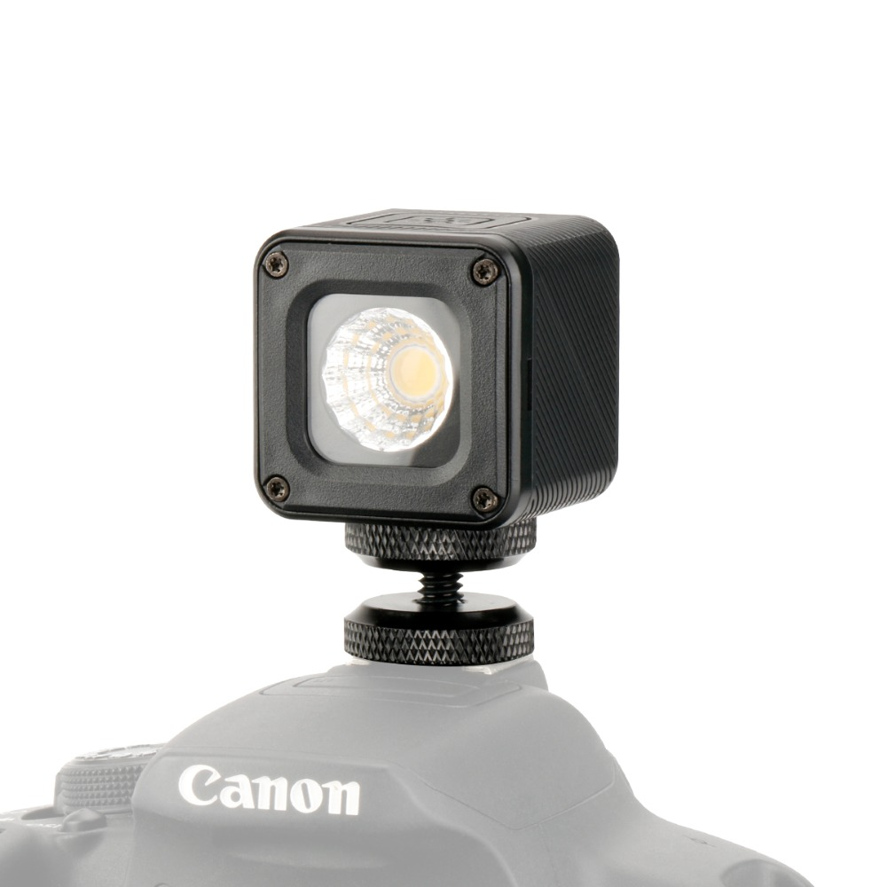 Ulanzi Mini Portable Caméra Vidéo LED Lumière Imperméable À L'eau LED Photo Éclairage avec Hot Shoe