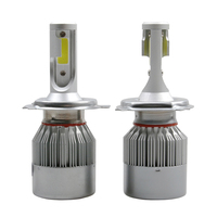 Car Styling CHEAPEST LAND C6 AUTO LED BULB LAMP KIT LIGHTS 72W 7600 LM IP68 H1