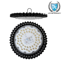 High Lumen 100W 220V 240V LED Ultra thin UFO Bay Light SMD2835 Warm Cold White Industrial Led Lamp For Factory/Warehouse