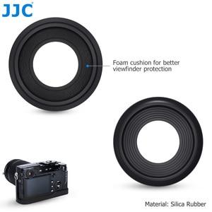 Image 3 - JJC 2 adet Eyecup mercek vizör siperliği Fuji Fujifilm X Pro2 XPro2 göz farı yumuşak silikon kauçuk kamera Eyecup koruyucu