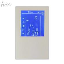 Hm цифровой Клапан душ Управление Лер 3 способа LED Сенсорный экран Управление термостат Дисплей ЖК-дисплей Smart Мощность Outlet совместим
