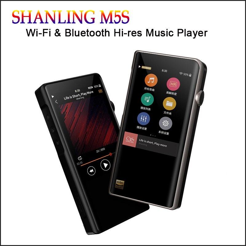 SHANLING M5s Salut-res Mp3 Wifi Lecteur Mp3 Lecteur Bluetooth Mp3 Lossless Hifi Lecteur de Musique DAC Flac WAV Portable reproducteur Mp 3