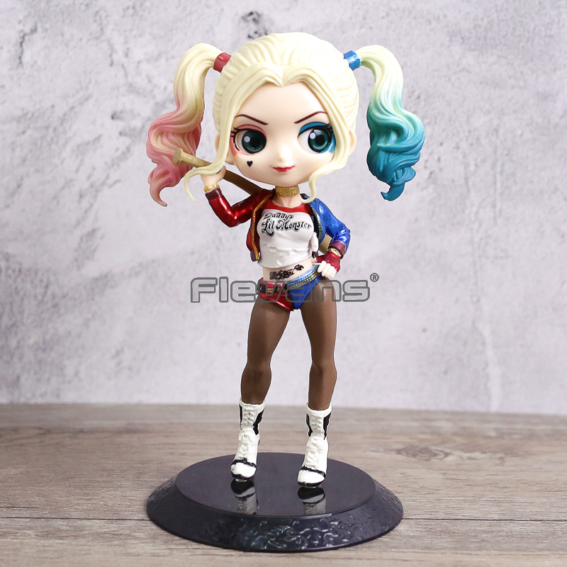 Qposket Suicide Squad Harley Quinn PVC Figure Toy Gift